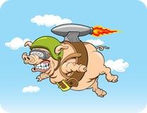 latająca świnia Obraz Stock