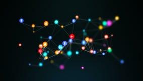 Latająca ikony sieć popularni ogólnospołeczni środki ilustracja wektor