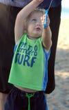 latająca latawiec chłopcze Fotografia Stock