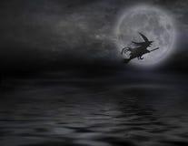 latająca wiedźma Obrazy Stock