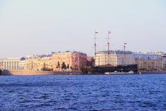Latającego holendera żeglowania naczynie, Petersburg Obraz Royalty Free