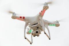 Latający amatora UAV truteń Zdjęcie Stock