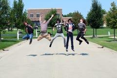 latający chłopcy zdjęcia stock