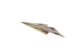 latający japoński jen Zdjęcia Stock