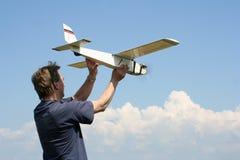 latający model zdjęcia stock