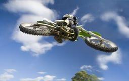 latający moto Zdjęcia Stock