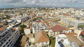 Latający nad Larnaka, Cypr Meteorolodzy zbiera opóźnionych geospatial dane zbiory wideo