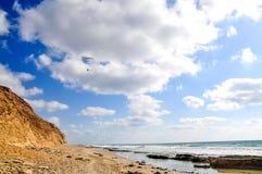 Latający paraglider Obrazy Royalty Free