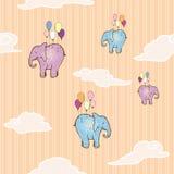 Latający słoń Obraz Stock