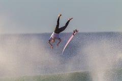 Latający Surfingowa Deski Wyjście   Fotografia Royalty Free