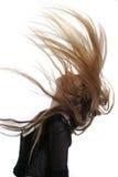 latający włosy Zdjęcie Stock