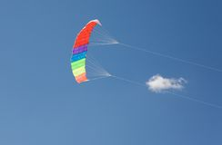 latająca kania Obrazy Stock