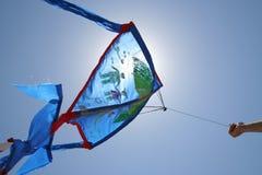 latająca latawiec Fotografia Royalty Free