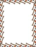 latająca ramowej gitara v Obrazy Royalty Free