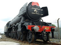 Latająca szkot lokomotywa na pokazie przy RailFest w Jork po respray Obraz Stock