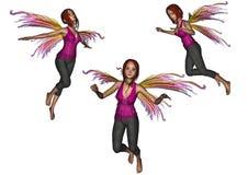 Latający faery set Zdjęcia Royalty Free