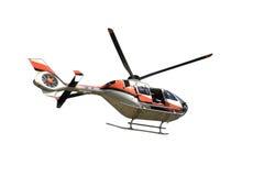Latający helikopter Fotografia Royalty Free