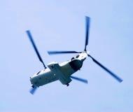 latający helikopter Obraz Royalty Free