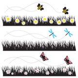 latający insekty ilustracja wektor