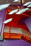 latający origami Obrazy Royalty Free