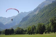 latający paraglider Fotografia Stock