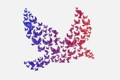 Latający ptaki Fotografia Royalty Free