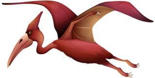 Latający pterozaur Fotografia Stock
