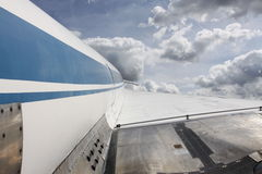 latający samolot Obrazy Stock