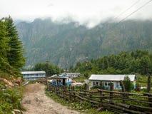Latamro village - Nepal Stock Photos