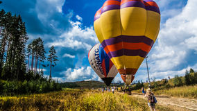 Latanie balonem festiwal Fotografia Royalty Free