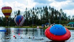 Latanie balonem festiwal Obraz Royalty Free