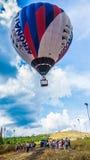 Latanie balonem festiwal Obrazy Stock
