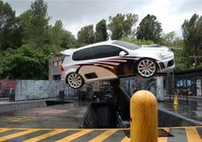 latanie samochodów trik Fotografia Royalty Free