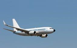 latanie samolotowego pojedynczy photoshop Fotografia Royalty Free