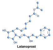 Latanoprost is a medication glaucoma. Stock Photo