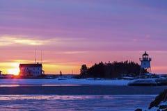 latarni morskich uroczyści marais Zdjęcia Royalty Free