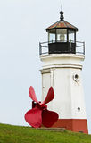 latarni morskiej śmigło Zdjęcia Royalty Free