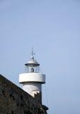 latarni morskiej błękitny niebo Zdjęcia Stock