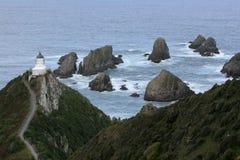 latarni morskiej bryłki punkt Zdjęcia Stock