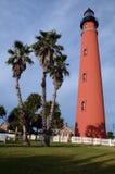 latarni morskiej czerwień Zdjęcie Stock