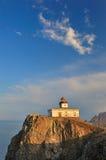 latarni morskiej krajobrazowy morze Fotografia Royalty Free