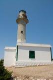 Latarni morskiej Lefkada Grecja przylądek zdjęcia royalty free