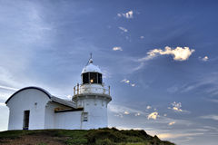latarni morskiej macquarie punktu portu halsowanie Zdjęcie Stock