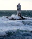 latarni morskiej mangiabarche Fotografia Royalty Free
