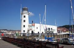 latarni morskiej marina jacht Zdjęcia Stock