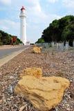 latarni morskiej mierzei Victoria woda Zdjęcie Royalty Free