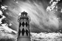 Latarni morskiej niebo Obraz Royalty Free