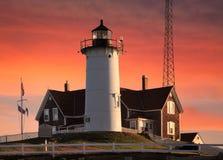 latarni morskiej nobska punkt fotografia stock