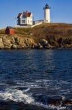 latarni morskiej nubble Obrazy Stock