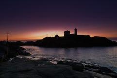 latarni morskiej nubble Fotografia Royalty Free